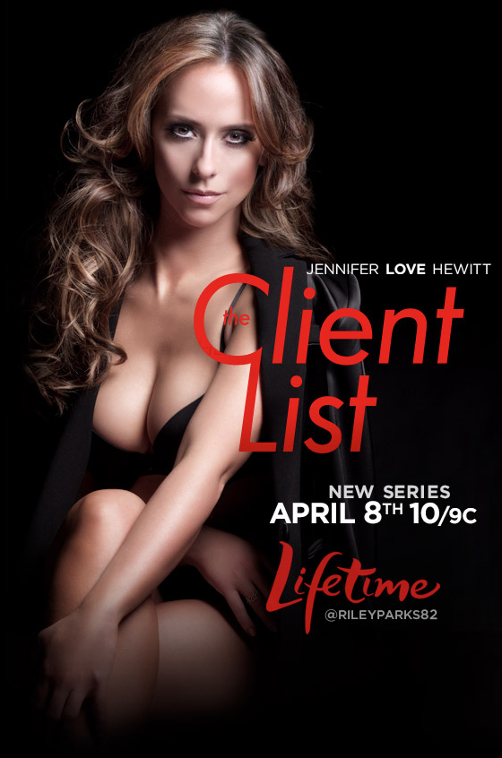 Jennifer Love Hewitt SEXES It Up For 'The Client List'
