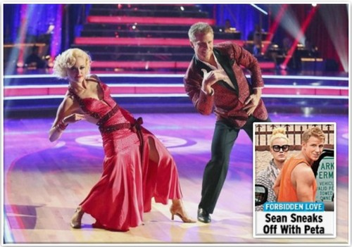 Sean Lowe Sneaking Around With Peta Murgatroyd