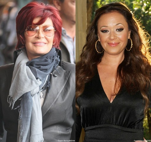 Sharon Osbourne Leah Remini