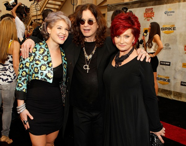 Sharon Osbourne Ozzy Osbourne Smiles
