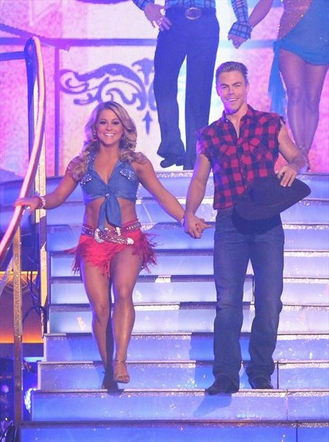 Shawn Johnson DWTS All-Stars Tango/Paso Doble Fusion Performance 11/5/12
