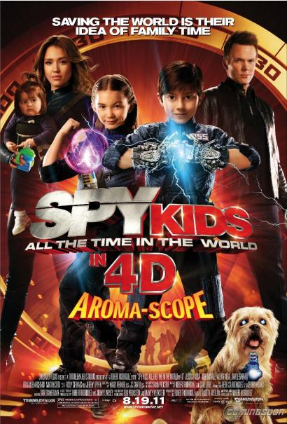 'Spy Kids: All The Time in the World' Official Trailer is HERE!