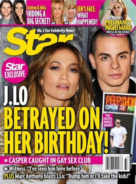 Casper Smart Betrayed Jennifer Lopez In A Sex Club On Her Birthday (Photo)