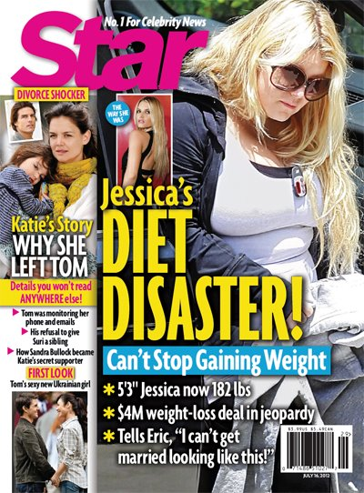 Jessica Simpson Gaining Weight: Weight Watchers Diet Failing (Photo)