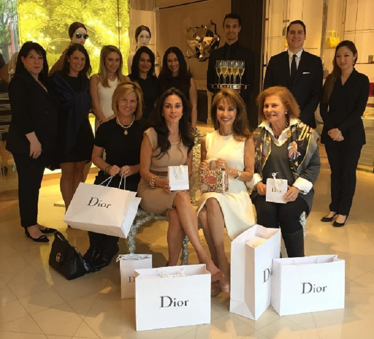 'All My Children' News: Susan Lucci Hosts Dior Boutique Event – Proceeds Benefit United Cerebral Palsy of NYC