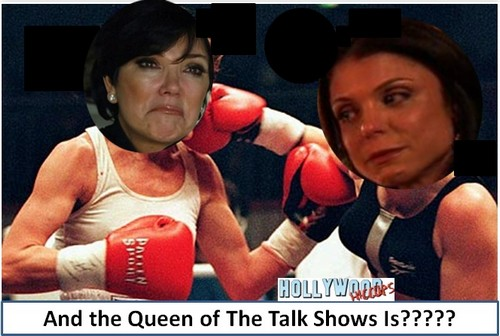 Kris Jenner and Bethenny Frankel Fighting Over Talk Show Guests