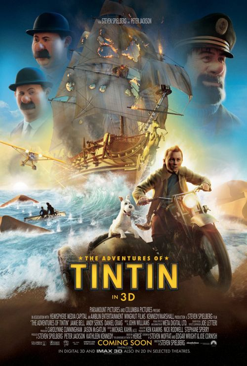 FRESH LOOK: &#8216;The Adventures of Tintin&#8217;