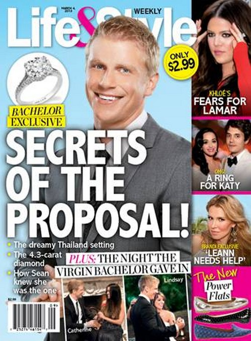 Details On The Bachelor Sean Lowe&#8217;s Amazing Proposal