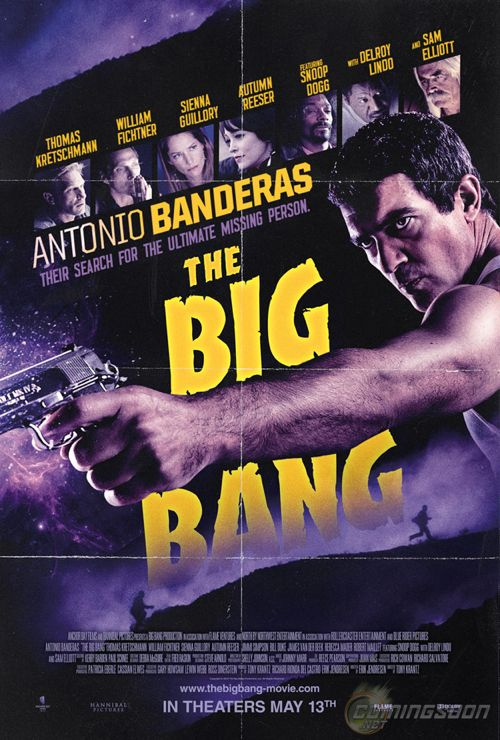 FIRST LOOK: Antonio Banderas 'The Big Bang' Movie Poster Unveiled