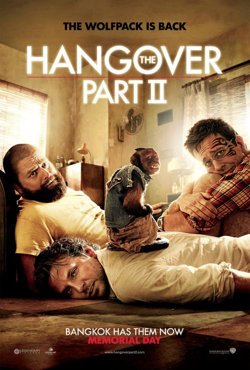 LOOK: 'The Hangover Part II' Movie Poster Has Landed