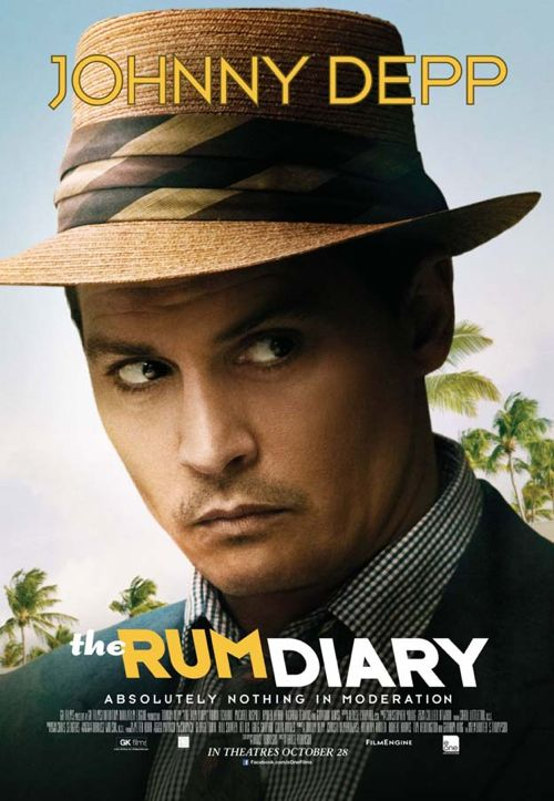 The Rum Diary - One Sheet Poster