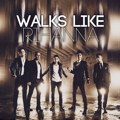 The-Wanted-Walks-Like-Rihanna-Album-Cover