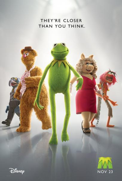 The Muppets Movie Poster - 2011