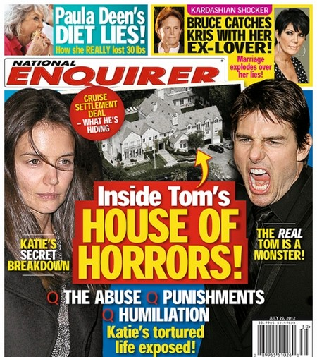 Tom Cruise Threatens to Sue Tabloid National Enquirer