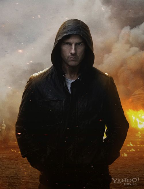 Tom Cruise: 'Mission Impossible: Ghost Protocol' Promo Shot is Tough As Nails!