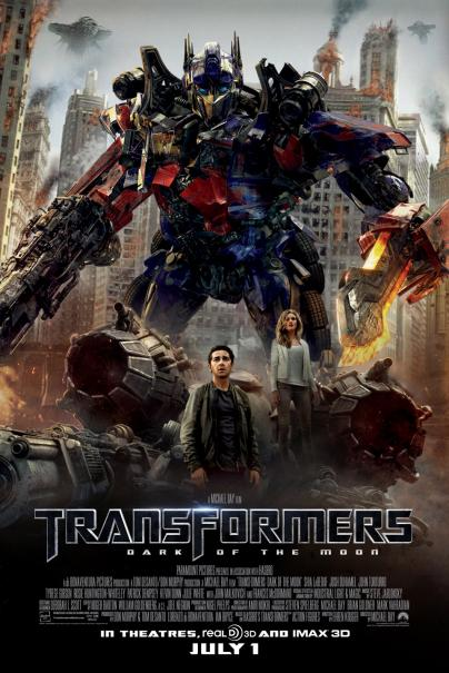 BRAND NEW: Transformers: Dark of the Moon Trailer in 3D