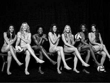 U.S. Women's Volleyball Team Strips Down to Cover ESPN Magazine (Photo)