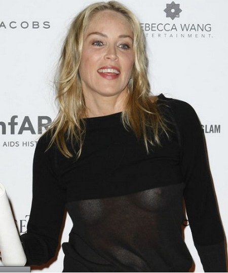 50 Shades Of Desperate: Sharon Stone Bares Her Beasts