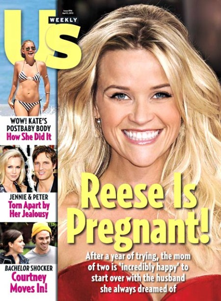 Reese Witherspoon Is Pregnant