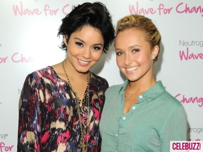 Vanessa Hudgens and Hayden Panettiere - SHORT HAIR PHOTO