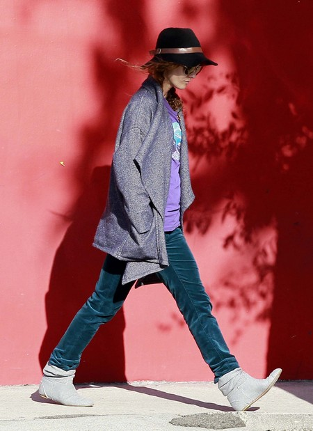 Vanessa Paradis Out In West Hollywood Without Johnny Depp (Photos)