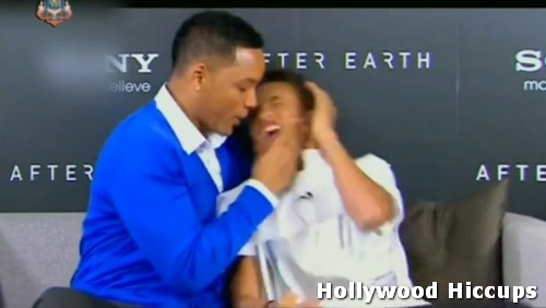 Will Smith Kisses Jaden Smith On The Mouth On Thai TV ...