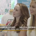 'The Young And The Restless' News: Camryn Grimes And Melissa Ordway Kick Off Get Your Licks On Route 66 'Lucky Dog' Adoption Campaign