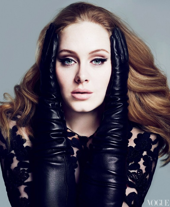 PICS: Adele is Gorgeous For Vogue – March 2012