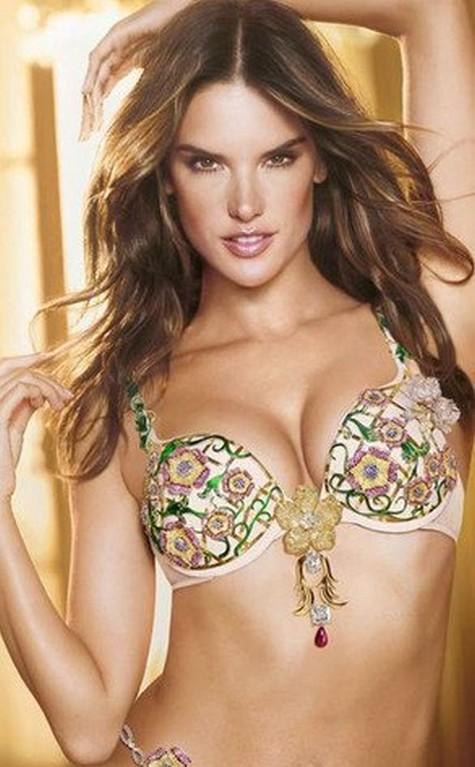 Alessandra Ambrosio Will Be Wearing A $2.5 Million Fantasy Bra At The Victoria's Secret Runway Show