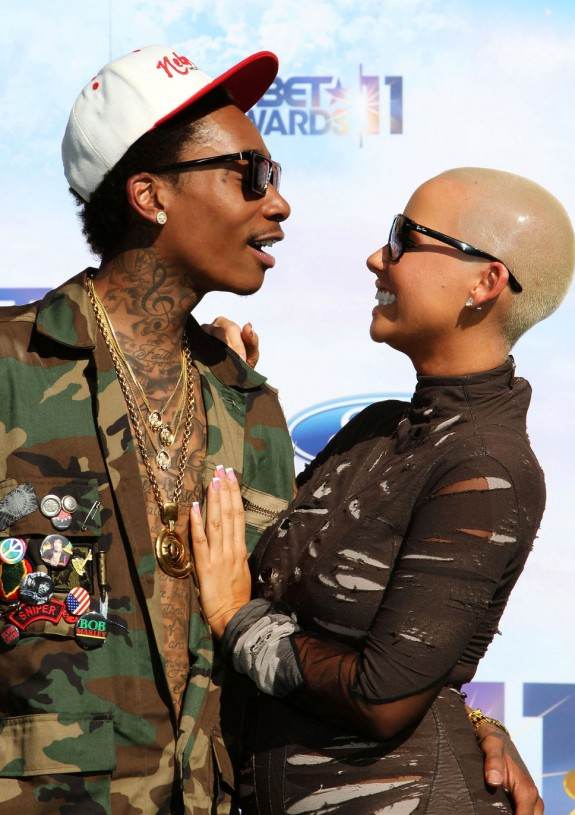 Amber Rose Expecting First Child From Wiz Khalifa!