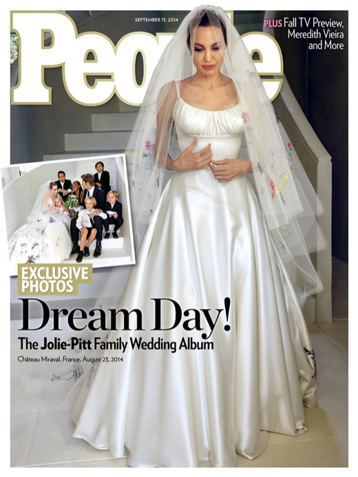 Angelina Jolie And Brad Pitt Wedding Photos Released In People Magazine