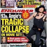 Angelina Jolie Collapses On Film Set, Brad Pitt Freaks Out? (PHOTO)