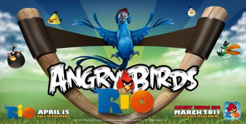 &#8216;Angry Birds Rio&#8217; Official Trailer + Release Date and Details