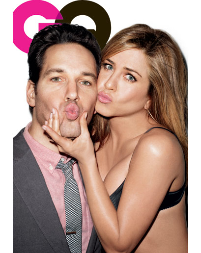 Photos: Jennifer Aniston and Paul Rudd Rock GQ