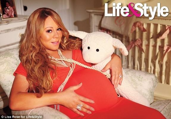 Mariah Carey Twins Nursery Photos