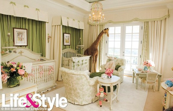 Mariah Carey Twins Nursery Photos