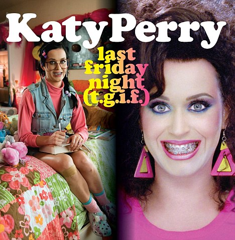 LOOK: Katy Perry SUPER GEEK For &#8216;Last Friday Night&#8217; (T.G.I.F) Single Cover Art