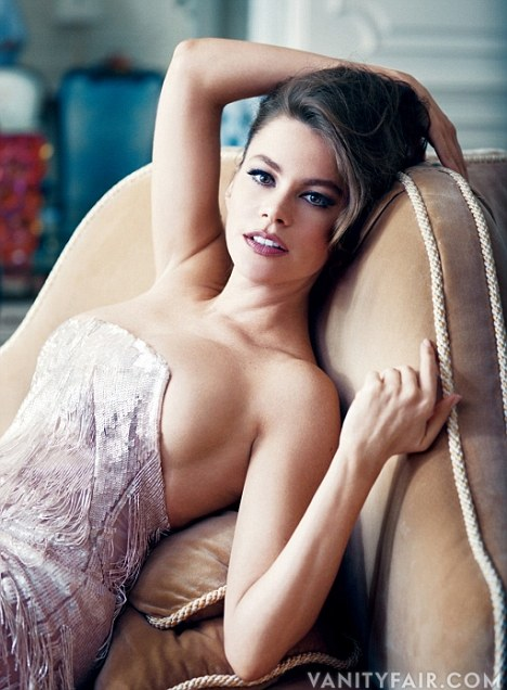 Sofia Vergara Smolders For Vanity Fair
