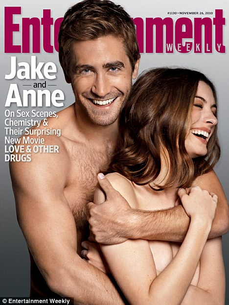 Jake Gyllenhaal and Anne Hathaway - Entertainment Weekly Covers