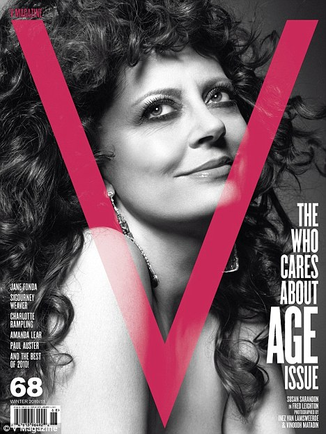 Susan Sarandon, Siguorney Weaver and Jane Fonda Strip for V Magazine – Photos