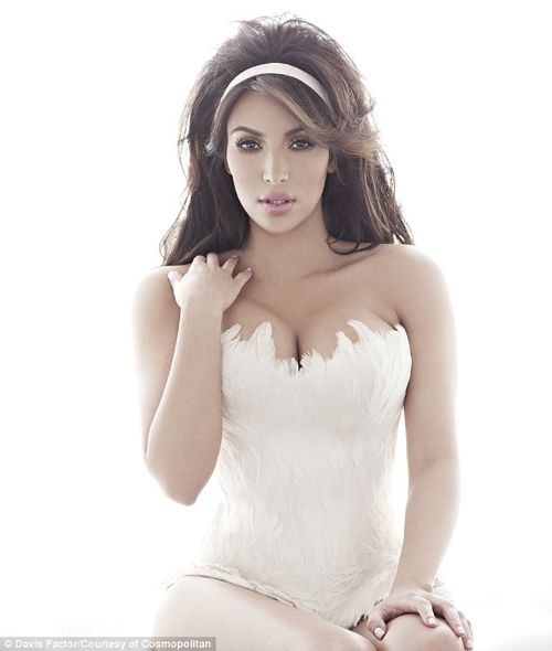 Kim Kardashian Cosmopolitan UK - Photos