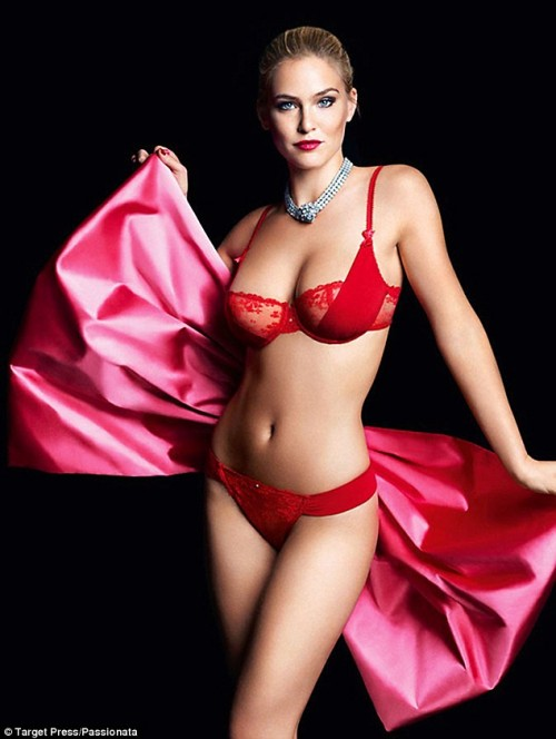 Bar Refaeli Smolders For Lingerie Ads&#8230; Eat Your Heart Out Leo &#8211; PHOTOS