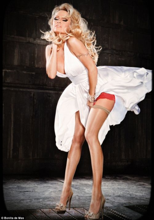 PHOTOS: Pamela Anderson Gets Kinky For Bonita De Mas