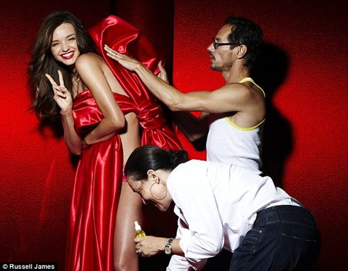 Victoria's Secret Gives Us SEXY Miranda Kerr Wrapped in a Bow – PHOTOS
