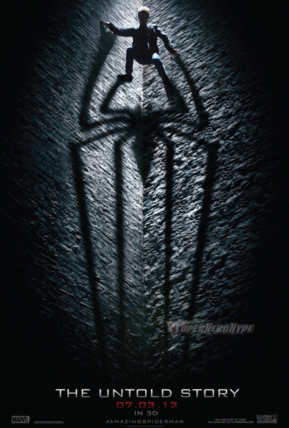 FIRST LOOK: &#8216;The Amazing Spider-Man&#8217; Poster