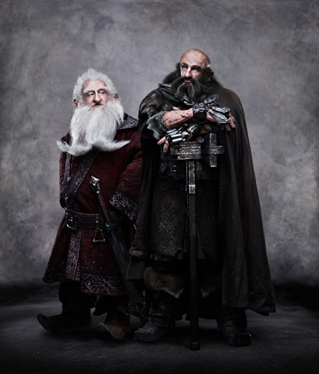 The Hobbit: An Unexpected Journey featuring Ken Stott as Balin and Graham McTavish as Dwalin.