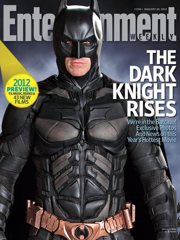LOOK! 'The Dark Knight Rises' Cover Entertainment Weekly
