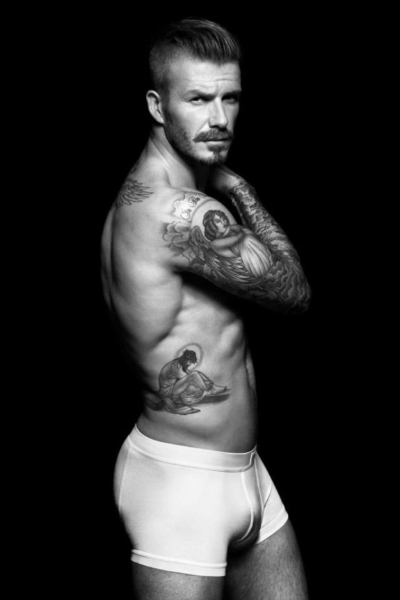 Still In Great Shape: David Beckham's Newest H&M Underwear Pictures Surface