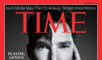 Benedict Cumberbatch Covers Time Magazine, Promoting The Fifth Estate And Other Films
