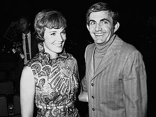 Blake Edwards and Julie Andrews